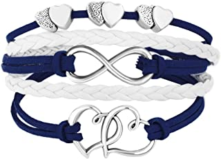 blue rope bracelet