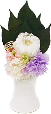 【しほり-SHIORI-】 プリザーブドフラワー 仏花 お供え お盆 ひがん ギフト 専用 クリアケース 入り 省スペースで飾る新しい プリザ仏花