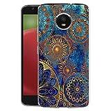 FoneExpert® Motorola Moto E4 Plus Tasche, Ultra dünn TPU Gel Hülle Silikon Hülle Cover Hüllen Schutzhülle Für Motorola Moto E4 Plus