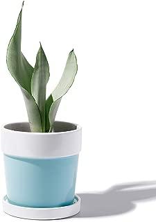 Potey Plant Flower Pot Ceramic Planters - 4.6