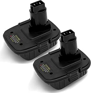 2Pack DCA1820 for Dewalt Battery Adapter for 18V Tools Compatible with 20V Lithium Battery