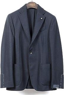 ラルディーニ LARDINI / 【国内正規品】 / 20-21AW!カシミヤフランネル3Bジャケット「JS903AQ(EASY)」 (ネイビー) メンズ