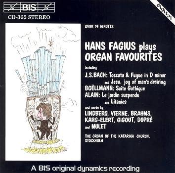 Fagius, Hans: Organ Favourites