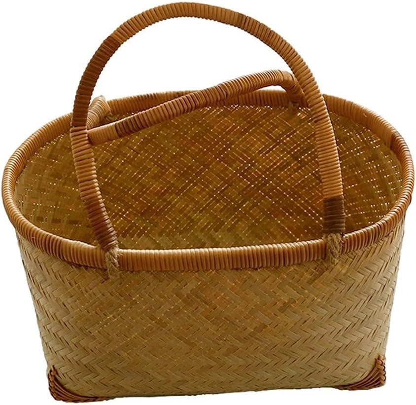 GANN Portable Rattan Picnic Basket 2 for Rare Person Outdoor Max 76% OFF H