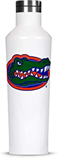 Corkcicle Canteen - 16oz NCAA Triple Insulated Stainless Steel Water Bottle, University of Florida Gators, Big Logo