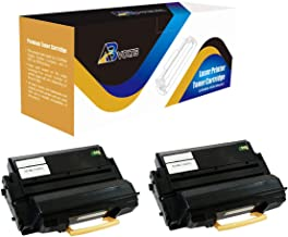 AB Volts Compatible Toner Cartridge Replacement for Samsung MLT-D201L for ProXpress M4080FX M4030ND (Black,2-Pack)