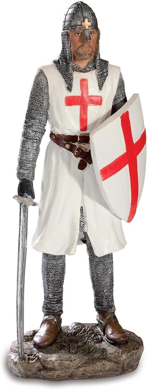 Figurine of Knight Templar Robert Craon  31.2 cm