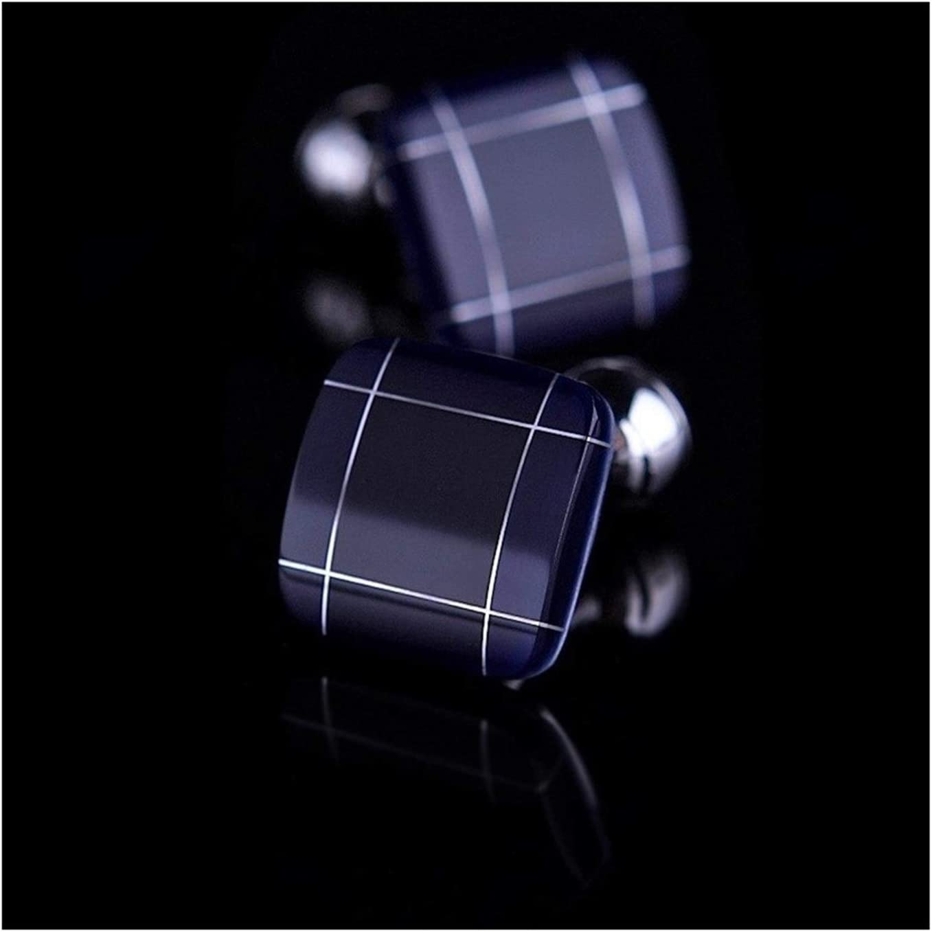 SDSF Japan Maker New Max 71% OFF Fashion Jewelry Gift Cufflinks B Men's Shirt Blue