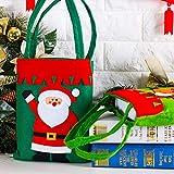 クリスマスギフトバッグクリニーククリスマスサンタサックス巾着袋は、ホリデーパーティーの装飾を持つバッグを扱います,A