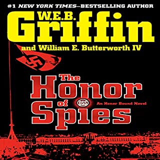 The Honor of Spies audiobook cover art