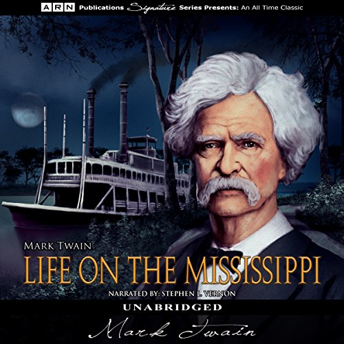 Life on the Mississippi audiobook cover art