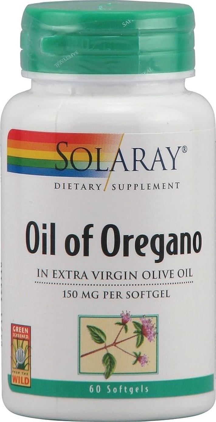 Solaray - Oil Of Oregano, 150 mg, 60 softgels aha1011333