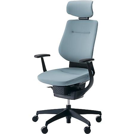 コクヨ イング イス アッシュターコイズ クッションタイプ デスクチェア 事務椅子 座面が360°動く椅子 CR-G3205E6G439-WN 【ラクラク納品サービス】