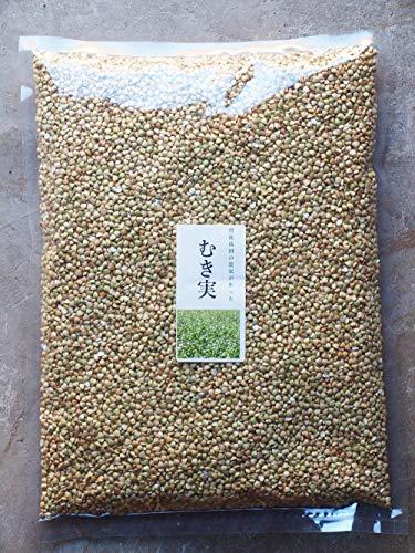 そばの実(むき実) 国産 1kg 無農薬無添加 九州大分県豊後高田産新物 低カロリー蕎麦の実