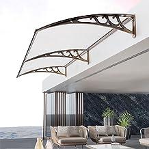 MaHFEI Luifel voor huisdeur, raam-regenbescherming, overkapping, deurdak, overkapping, lessenaarsboogluifel, tuinluifel op...