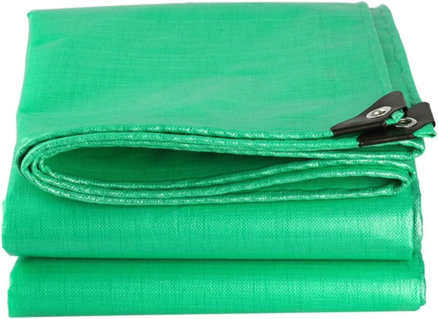 Tarps Waterproof Tarpaulin Sunscreen Cloth Shrink Proof with Heat Sealed Seams Tent Shelter for Farmers Painters Campers,Green