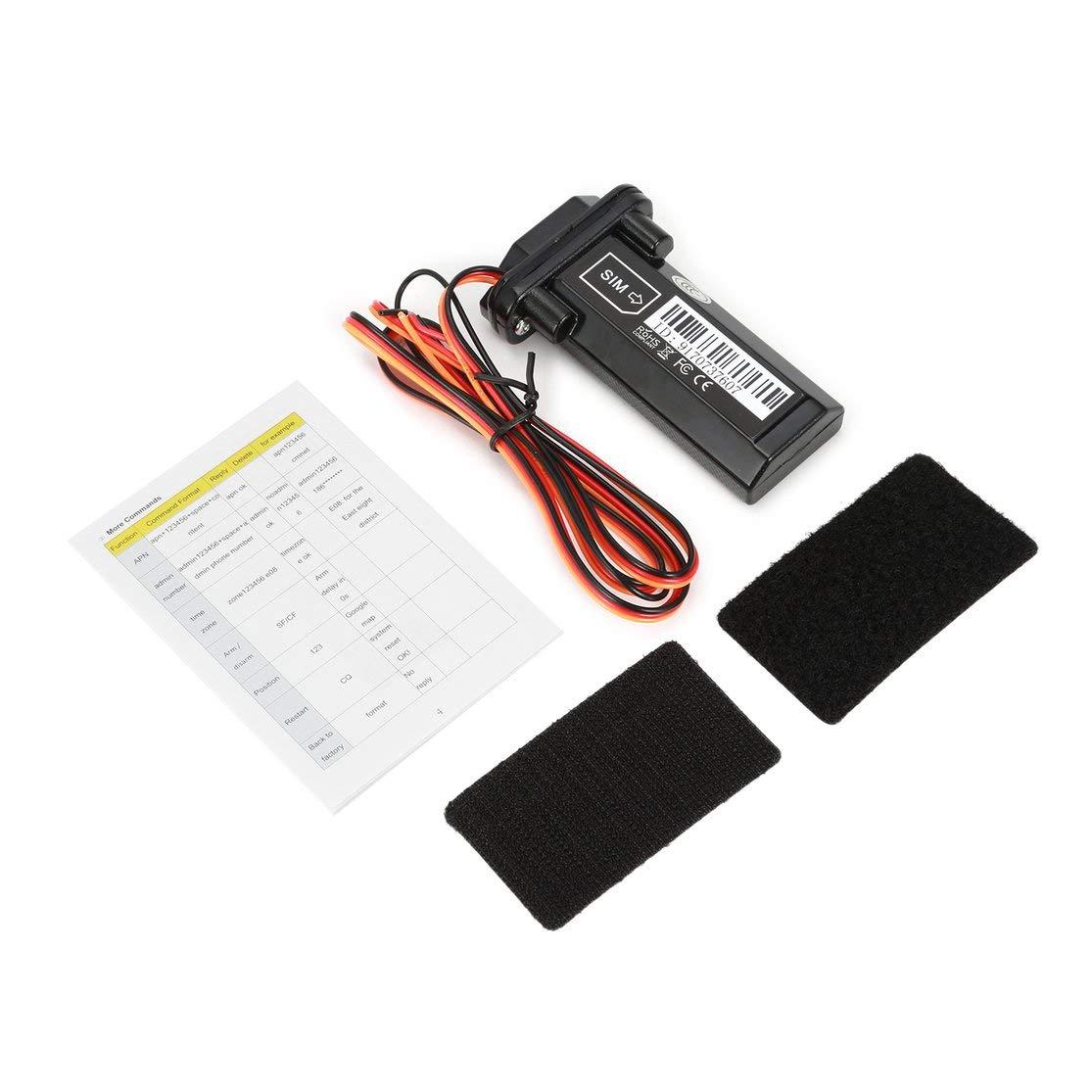 Color:Black ST-901 GT02A Mini bater/ía incorporada gsm GPS Tracker para Dispositivo de Seguimiento de veh/ículos de Motocicletas de autom/óviles con Software de Seguimiento en l/ínea Kaemma