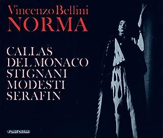 Bellini: Norma (June 29, 1955) with Bonus Tracks of Maria Callas Singing Bellini (Il Pirata, July 1959 / La Sonnambula, July 1957 / I Puritani, November 1956)