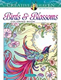 Creative Haven Birds and Blossoms Coloring Book (Adult Coloring)