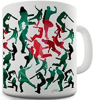 Bangladesh Cricket Collage 11 OZ Ceramic Novelty Mug