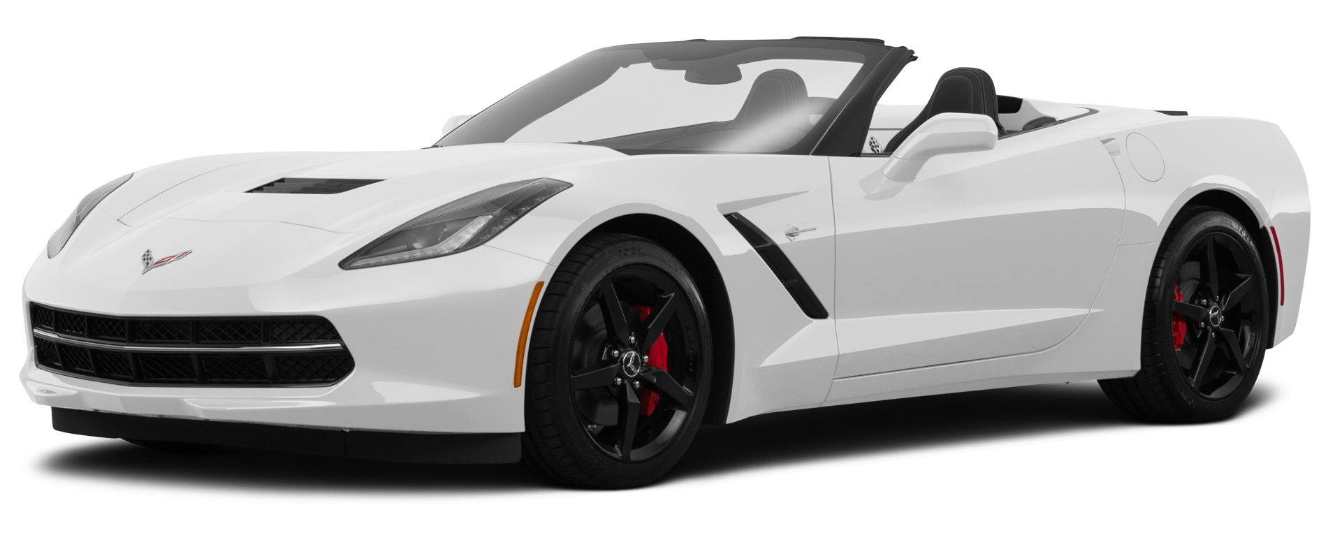 Pair 2015 C7 Corvette Z06 Supercharged 650 Interior Dash Console Door Emblems