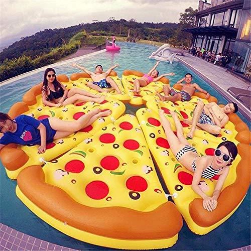 Verano Fila De Pizzas para Pizzas De PVC Juguetes Inflables, Tumbonas De...