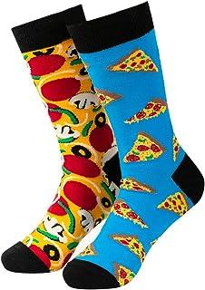 Men's Novelty Socks Men's Fun Dress Socks Colorful Funky Fancy Crazy Funny Casual Socks for Men