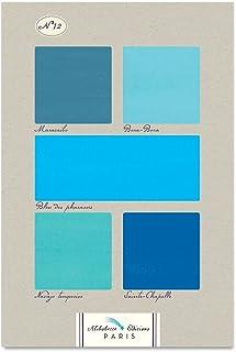 Bleus N12: All Blues - French Colour Chart