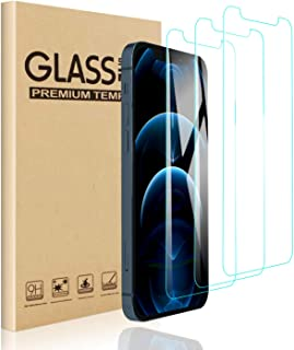 『3枚セット』 for iPhone 12 pro max 用 ガラスフィルム 強化ガラス 液晶保護フィルム 日本旭硝子製 硬度9H iPhone 12 pro max 用 フィルム 99%高透過率 指紋防止 飛散防止 キズ防止 気泡ゼロ 自動吸着
