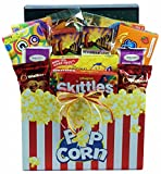 Gift Basket Village Snack Attack Gift Basket with Cookies, Popcorn and Boxes of Sweet Tooth Favorites, 7 Pound