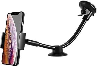 ipow® Universal Auto Handyhalterung Extra Lange Arm KFZ Halterung Saugnapf Handy Halter für Smartphone wie iPhone Xr X 8 Plus 7 5 6 Samsung Galaxy S9 S8 S7 S6 und Mehr