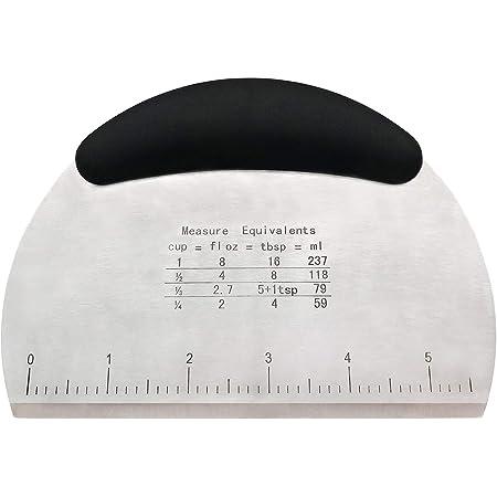 Teigschneider Teigschaber Teigspachtel Teig Spachtel mit ergonomischen Griff XXL