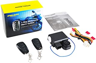 KKmoon 986F Motorcycle Alarm System, Anti-Theft Motorcycle Alarm with Remote, Engine Starter with Two Transmitter