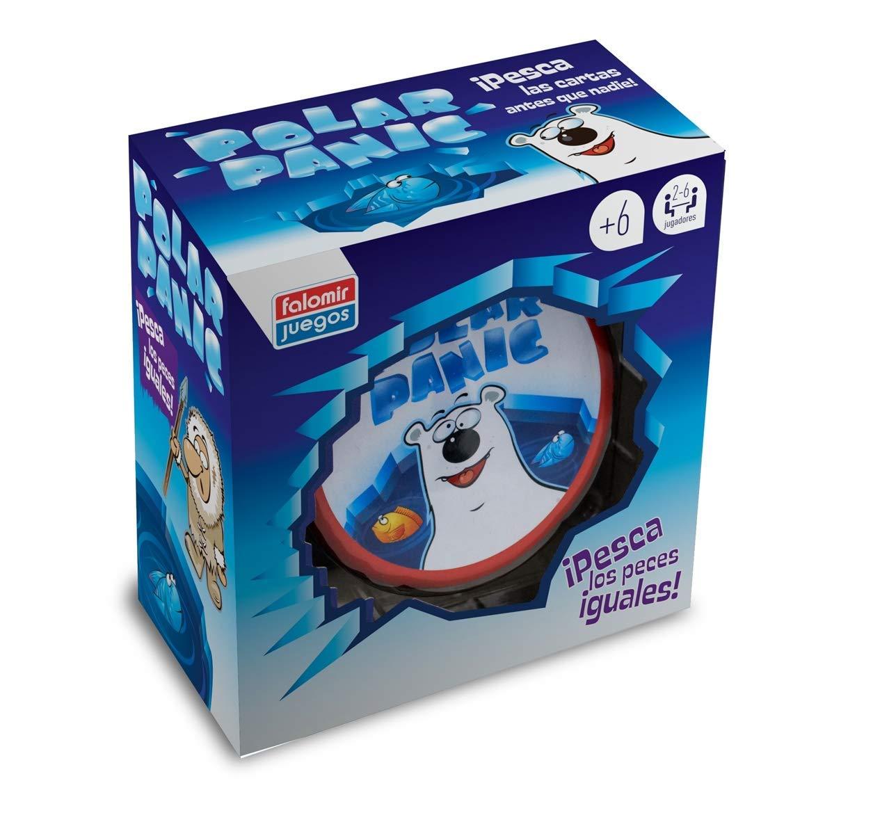 Falomir Pánico Polar. Juego de Mesa. Cartas, Multicolor (1): Amazon.es: Juguetes y juegos