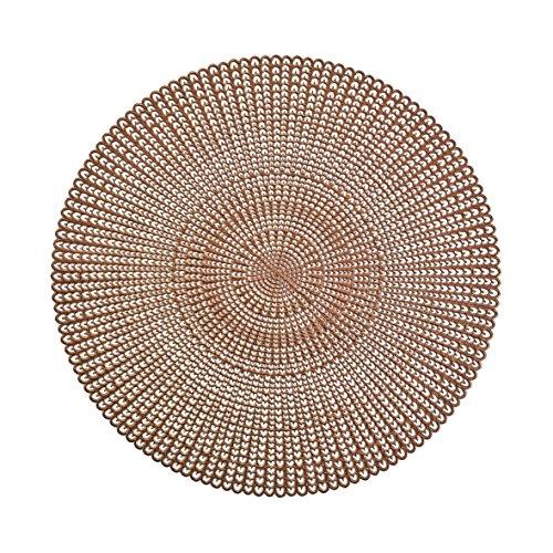 Zeller Platzset, PVC, kupfer, 41 cm