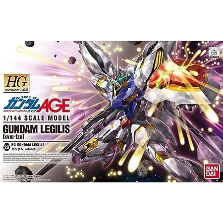 HG 機動戦士ガンダムAGE xvm-fzc ガンダムレギルス 1/144スケール 色分け済みプラモデル