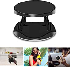 Asstar, Expanding Phone Stand and Grip, Universal Collapsible Expandable Holder Compatible with All Smart Phones and tablets Including iPhone,Galaxy for Girl Boy Man Woman (Black)