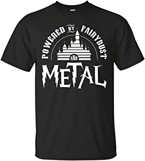 Powered by Fairy Dust and Metal Rock T-Shirt
