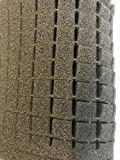 Online Fabric Store Charcoal Pick & Pluck Foam - 1' x 10.5' x 14.5'