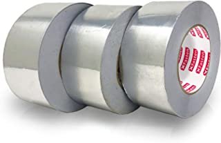 XFasten Professional Aluminum Foil Tape, 3.6 mil, 2 Inches x 55 Yards (3-Pack)