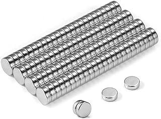 Neodym magnet extra stark 100 st cylindermagneter för kylskåp whiteboard kontorshantverk mini rund magnetisk cirkulär skiv...