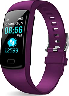 Fitness Tracker, Activity Trackers Health Exercise Watch with Heart Rate Monitor and Sleep Monitor, Smart Band Calorie Counter, Step Counter, Pedometer Walking for Kids Girls and Boys