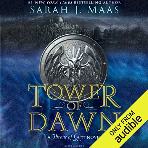 Tower of Dawn     A Throne of Glass Novel              By:                                                                                                                                 Sarah J. Maas                               Narrated by:                                                                                                                                 Elizabeth Evans                      Length: 22 hrs and 39 mins     480 ratings     Overall 4.7