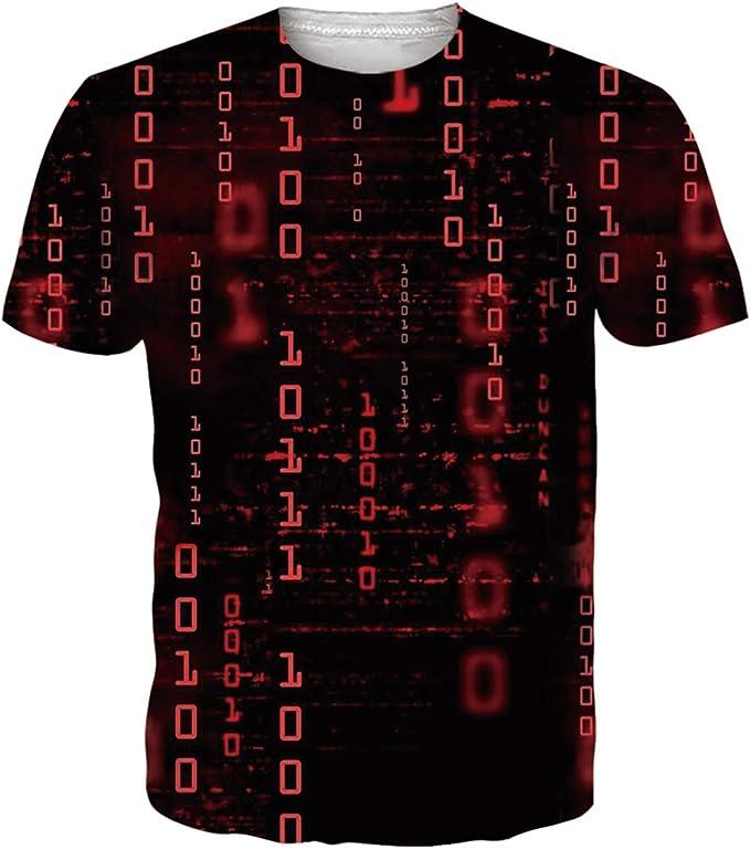 1359 opinioni per Idgreatim Herren Damen T-Shirt 3D Druck Kurze Ärmel Grafik T Shirts Männer Fun