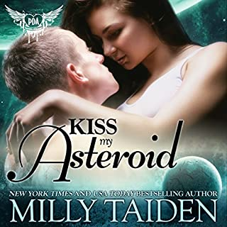 Kiss My Asteroid audiobook cover art