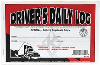 J.J. Keller - Duplicate Driver's Daily Log Book, Carbon, Pack of 25 Books