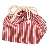 HAKOYA 巾着袋 赤とくさ 5829
