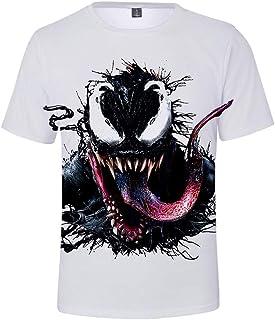 Venom Spider T-shirt Spiderman jeux Marvel DC Deadpool Gym Top cadeau de Noël Imprimer
