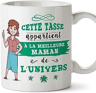 MUGFFINS Mère Tasses Originales de café et Petit-déjeuner à Donner Maman -Cette Tasse..