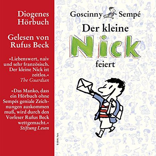 Der kleine Nick feiert Titelbild